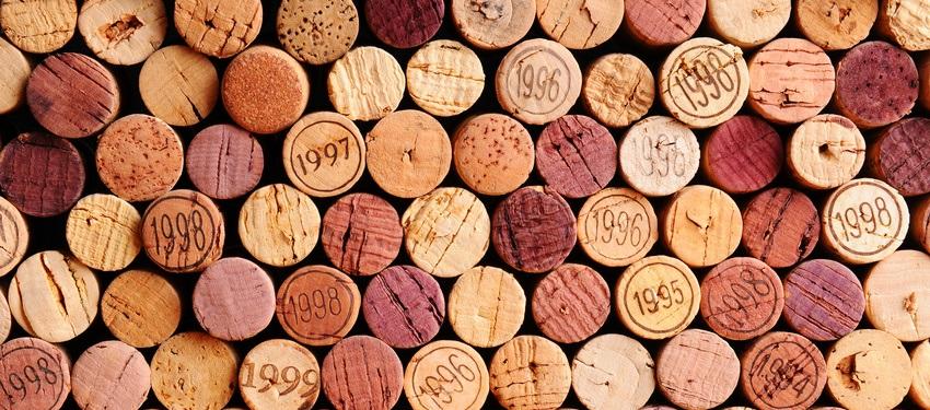 bouchons liege bouteille de vins