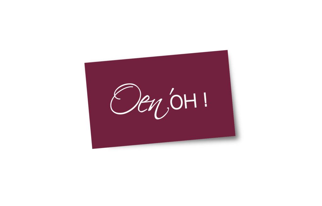 Identité de marque Oen'OH !